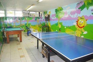 Salão de Jogos Infantil Praia Clube São Francisco