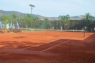 Quadra de tênis Praia Clube São Francisco