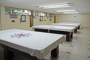 Salão de jogos adulto Praia Clube São Francisco