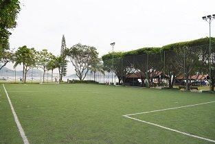 Campinho de futebol Praia Clube São Francisco