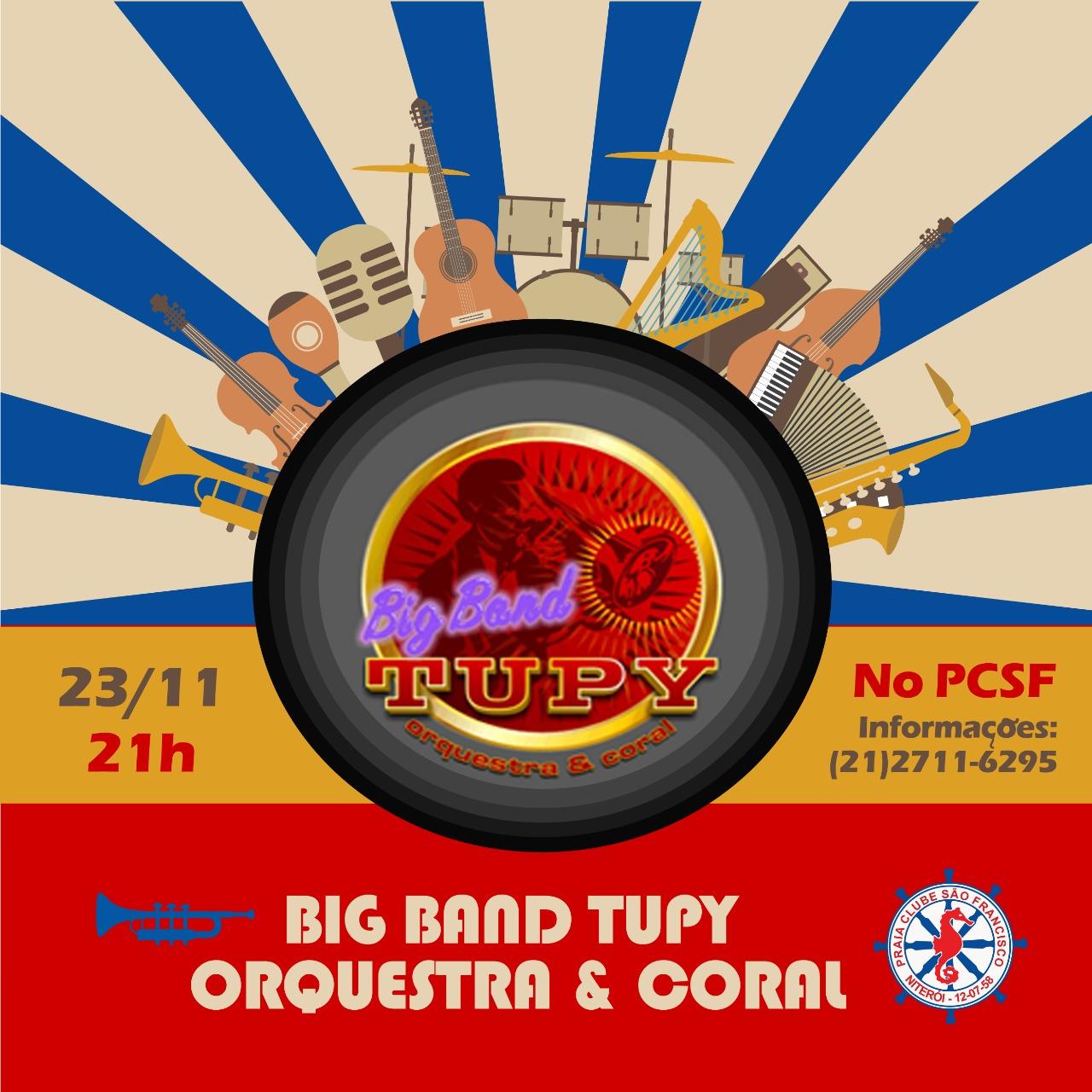 Big Band Tupy Praia Clube São Francisco