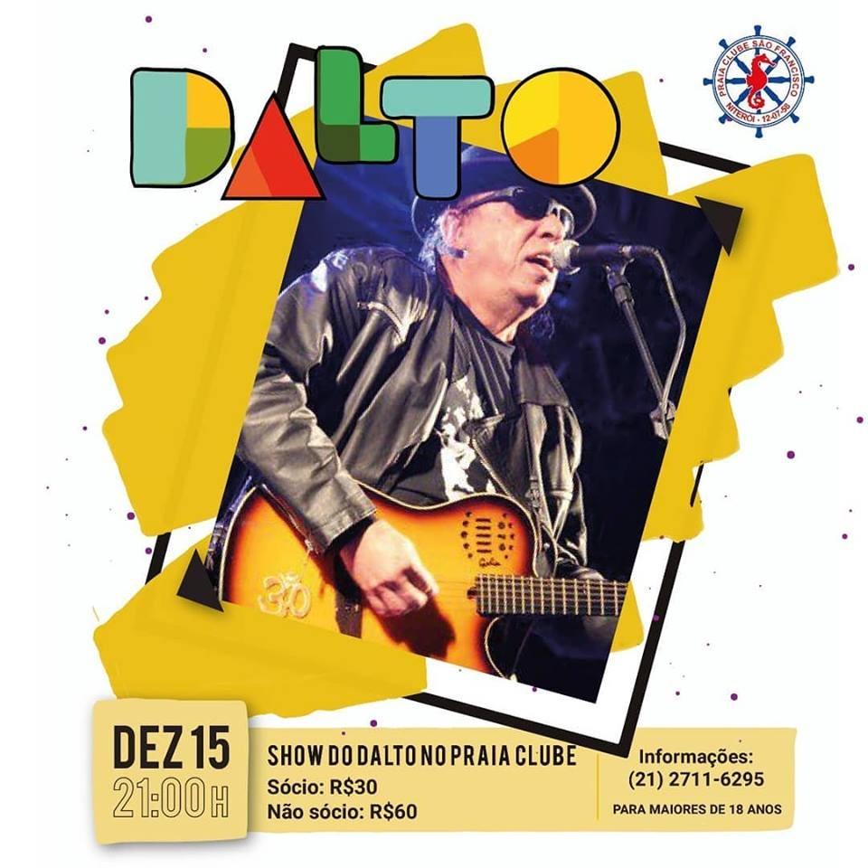 Show do Dalto Praia Clube São Francisco