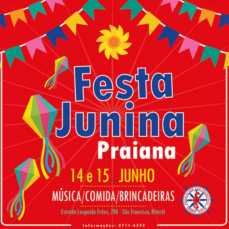 Festa Junina Praiana 2019 PCSF