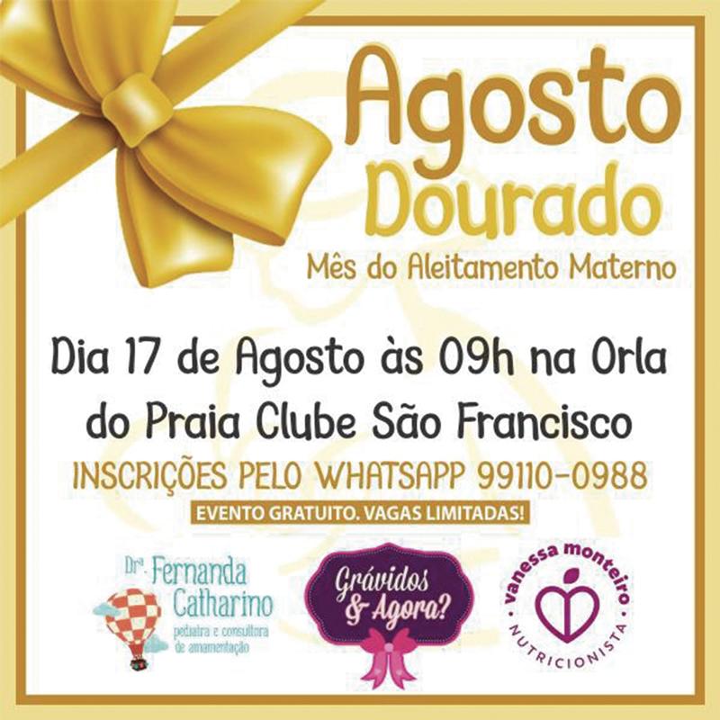 Agosto Dourado Praia Clube São Francisco