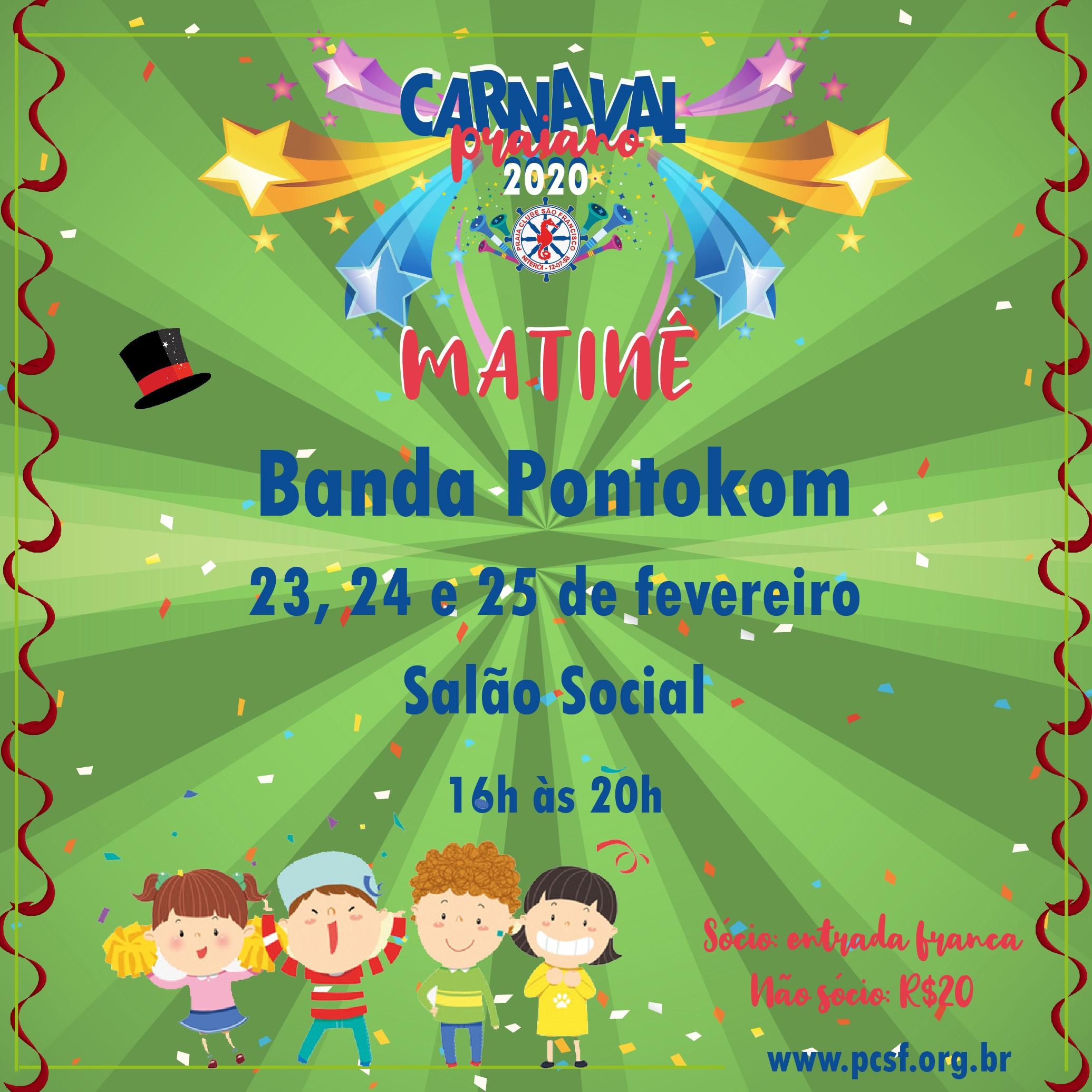 Matinê Carnavalesca PCSF