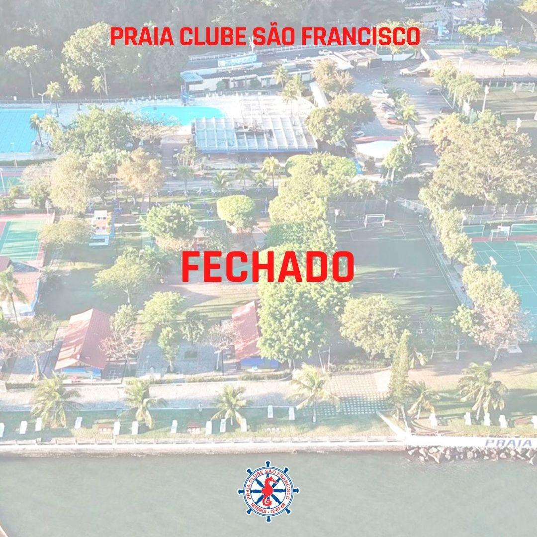 Comunicado Praia Clube São Francisco
